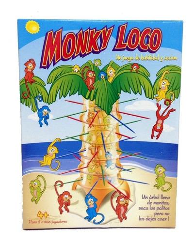 Monky Loco Juego De Mesa New Original Tv Ditoys 071 Bigshop