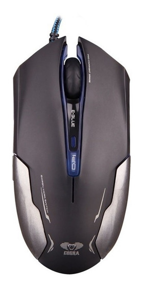 E-blue - Mouse Optico Cobra Advance 3000dpi - Ems653bkaa