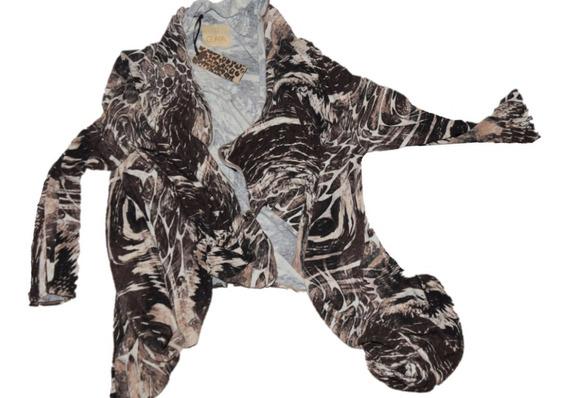 Guapa Saco De Polyester Y Sapandex Estampado Promo