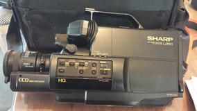 Câmera Sharp L250 Vídeo Profissional Carregador De Bateria
