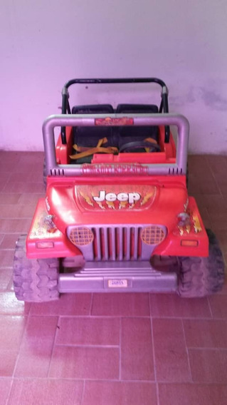 Jeep Fisher Price Carro Eléctrico A Bateria