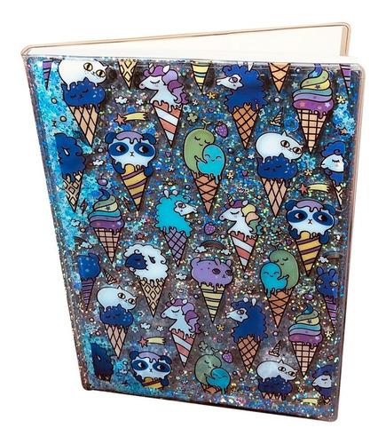 Cuaderno Con Figuras Tiernas Ositos, Gatos 80 Hojas Rayadas