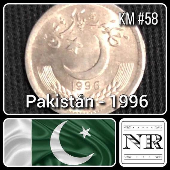 Pakistan - 25 Paisa - Año 1996 - Luna Y Estrella - Km #58