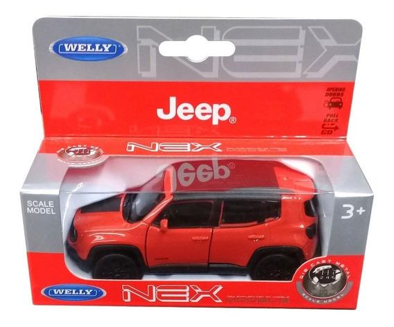 Jeep Renegade Welly Escala 1:36 Metal Excelentes Detalles