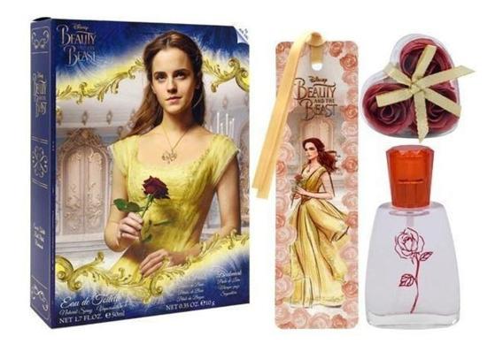 Perfume Infantil Disney A Bela E A Fera 50ml Estojo Original