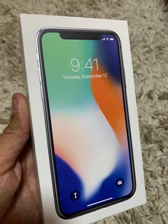 Apple iPhone X 64gb Homologado Anatel Semi Novo Silver