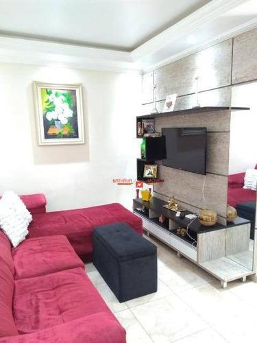 Apartamento Com 2 Dormitórios À Venda, 70 M² Por R$ 360.000,00 - Vila Augusta - Guarulhos/sp - Ap0109