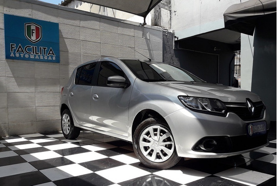 Renault Sandero 1.0 Expression Flex 4p Ideal Para Aplicativo
