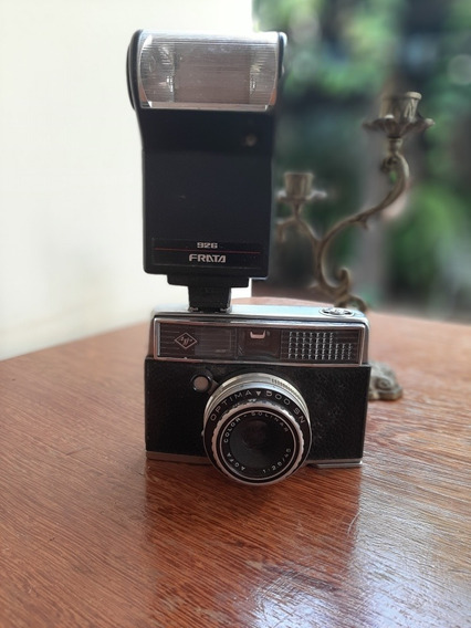Câmera Antiga Agfa Optima