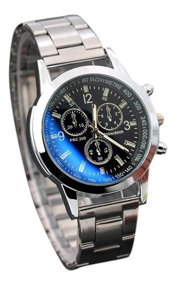 Relógio Masculino Luxo Social Esporte Pulso Quartzo