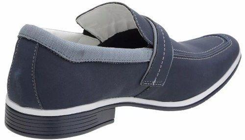 Sapato Social Masculino Venetto Jeans 0313d