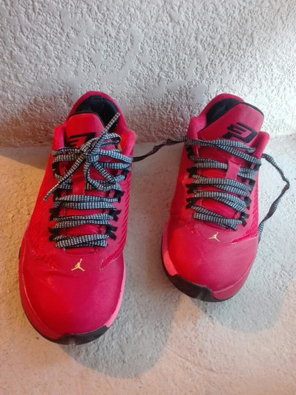 Tenis Jordan Cp3 Viii Chilling Red 23.5 Cm Retro Gs