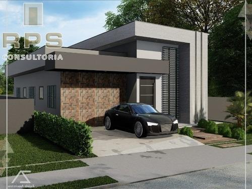 Imagem 1 de 10 de Casa Em Condomínio Para Venda Em Atibaia Condomínio Buona Vita- Atibaia - Cc00548 - 69804534
