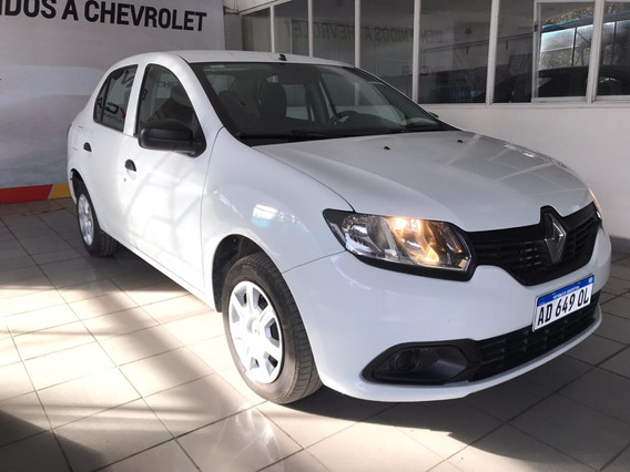 Renault Logan Authentique 1.6 Blanco 2019