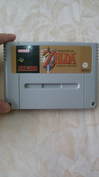 Fita De Super Nintendo The Legend Of Zelda Em Português