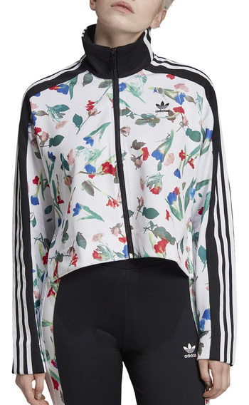 Campera adidas Originals Moda Tracktop Mujer Bl/ng