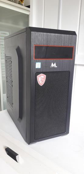 Computador Intel I3 8100 3.6 Ghz 4gb Ddr4 - Ssd 240gb