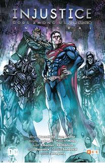 Injustice Año Cuatro Integral - Dc Ecc Comics - Robot Negro