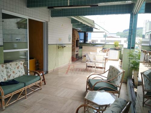 Apartamento Cobertura À Venda Em Santos/sp - 1340