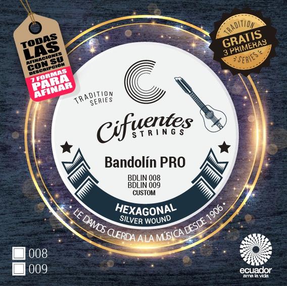 Cuerdas Para Bandolín Pro Cifuentes Strings