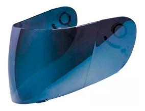Viseira Nasa Sh881 Sh821 Shiro Azul C/trata. Anti Risco