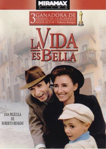 La Vida Es Bella Roberto Benigni Película Dvd