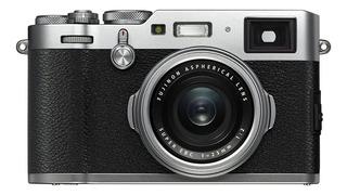 Fujifilm X Series X100F compacta plata