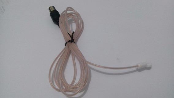 Antena Interna Fm Com Plug Europeu + Adap.f 75r Coaxial