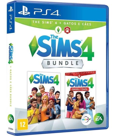 Jogo The Sims 4 Cães E Gatos Completo Ps4 Midia Fisica Game Original Lacrado Nacional Promoção