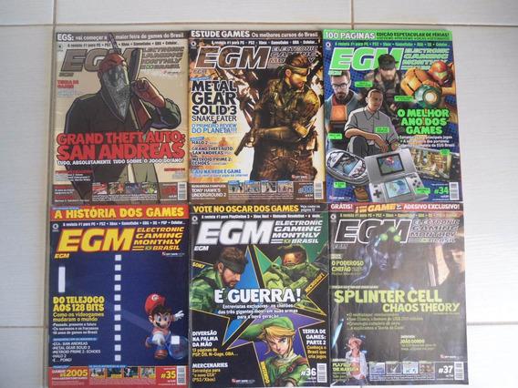Revista Egm Nº 32 A 55 Ótimo Preço Unitário