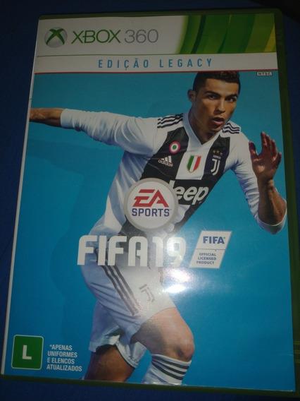 Fifa 19 Xbox 360 Midia Física Original Pt-br