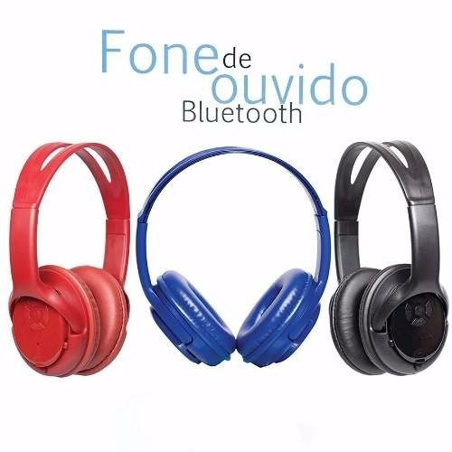 Kit 10 Headphone Bluetooth Fone De Ouvido Usb Sd Rádio Fm