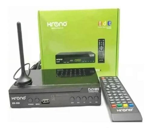 Decodificador Tdt Krono Digital Hd Funciona En Todos Tv