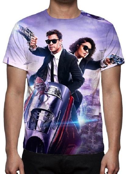 Camiseta Mib Homens De Preto Internacional 02 - Estampa