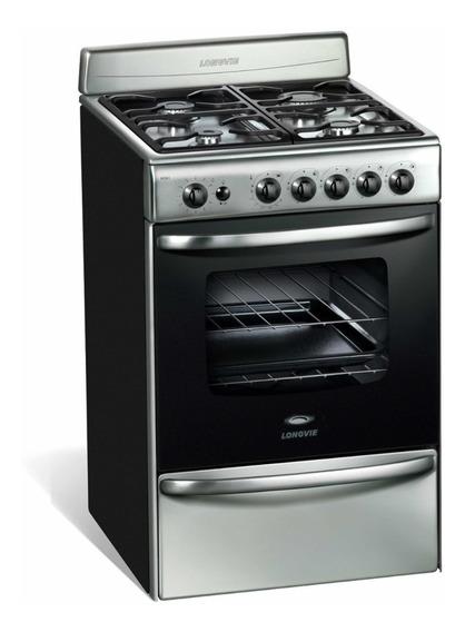 Cocina Longvie 18501xf Acero Inoxidable 56cm Auto Limpiante