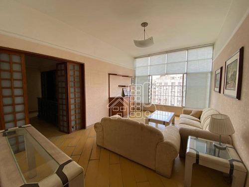 Apartamento À Venda, 100 M² Por R$ 550.000,00 - Ingá - Niterói/rj - Ap4192