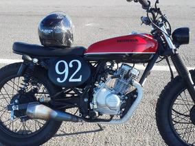 Honda Cb1 Café Racer Tracker Hermosa Por Donde Se La Mire