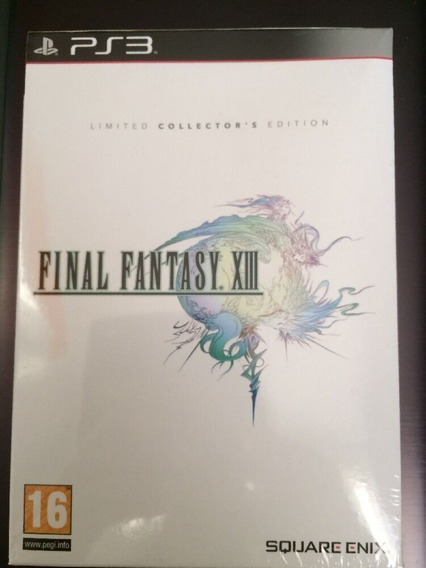 Final Fantasy Xiii Collectors Edition Ps3 Espanhol