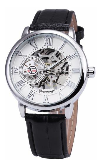 Reloj Piel Mecanico Forsining Original Envio Incluido
