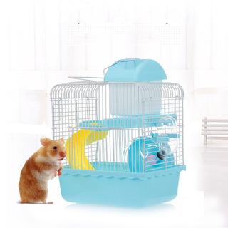 Hamster Cage Portador Portátil Hábitat De Hámster De Dos