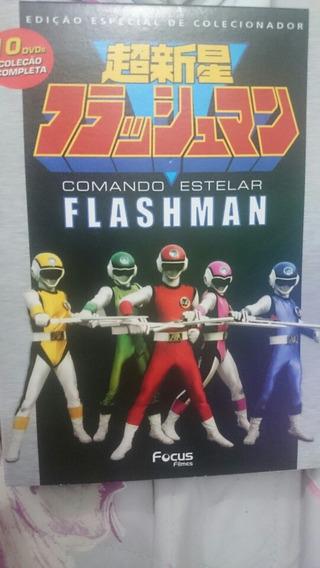 Dvd Comando Estelar Flashman Coleção Completa