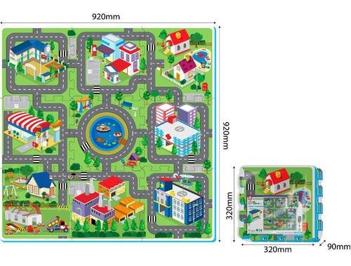 Alfombra Mapa De La Ciudad