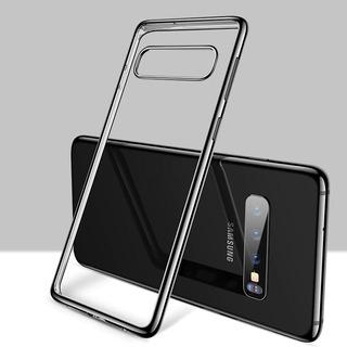 Capa Case Ultra Fina Galaxy S10 Plus + Pel Nano Gel Flexível