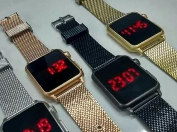 Relógio Digital Unissex, Varias Cores Disponíveis