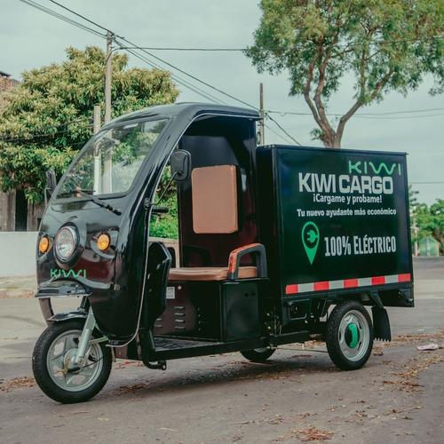 Triciclo Utilitario Kiwi Modelo Cargo