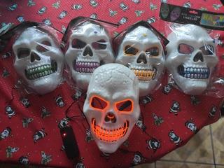 Mascaras Led Estilo Calavera
