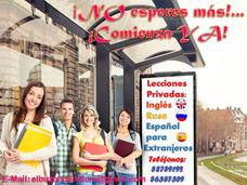Lecciones Privadas: Inglés, Ruso Y Español Para Extranjeros.