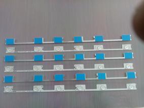 Kit 6 Barras Novas De Aluminio Toshiba 48l2400 Dl4844 Dl4845