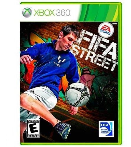 Fifa Street Xbox 360 Mídia Física Novo Lacrado