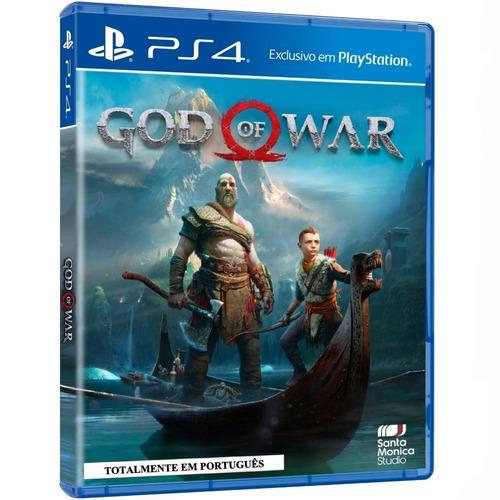 Game God Of War Ps4 Midia Fisica Cd Original Novo Dublado